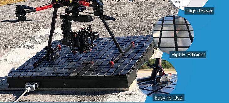 Dobíjecí platformy pro bezpilotní drony SKYSENSE
