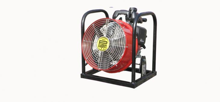 Měření přetlakové ventilace