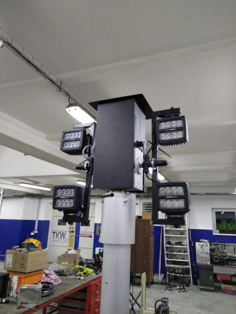 autonomní osvětlovací sestavy