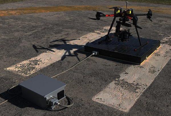 dobíjecí platformy pro bezpilotní drony