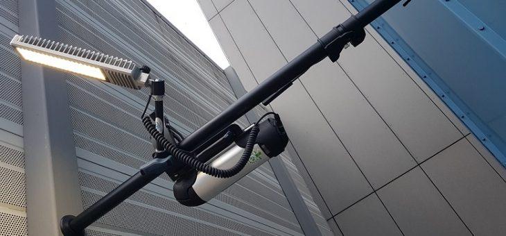Unikátní regulovatelné osvětlovací soupravy Q-GUAR