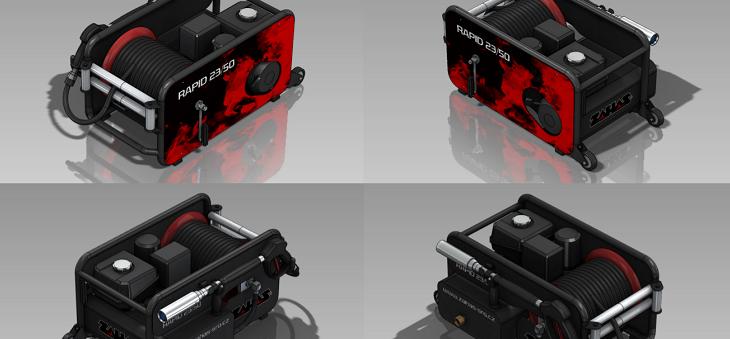 Nový design pro strojní výrobky Zahas a jiné novinky